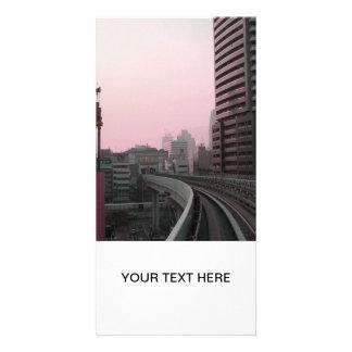 Tokyo Train tracks Card