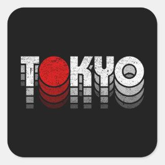 Tokyo Vintage ( 東京Tシャツ ) Square Sticker