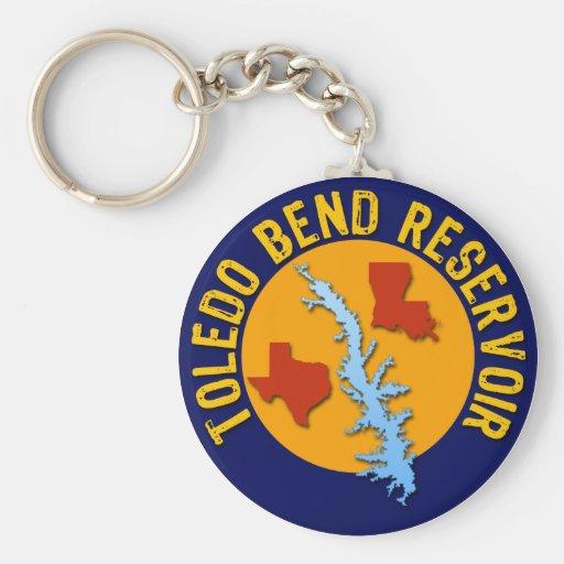 Toledo Bend Reservoir Keychains