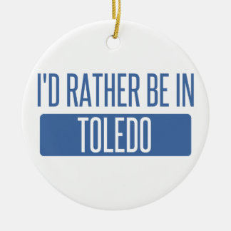 Toledo Ceramic Ornament