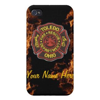 Toledo Fire iPhone 4/4s case