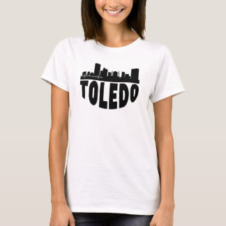 Toledo OH Cityscape Skyline T-Shirt