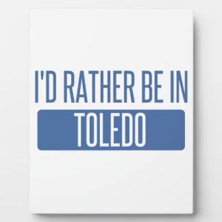 Toledo Plaque