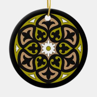 Toledo Round Ceramic Decoration
