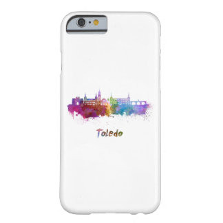 Toledo skyline in watercolor barely there iPhone 6 case