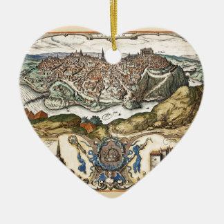 Toledo Spain 1566 Ceramic Ornament