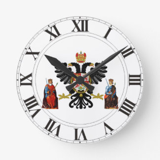 Toledo (Spain) Coat of Arms Round Clock