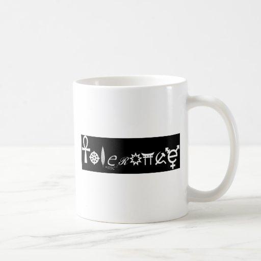 Tolerance Religious Symbols Mug