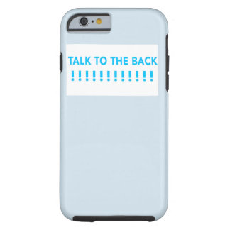 tolk to the back phone case