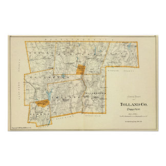 Tolland Co N Poster