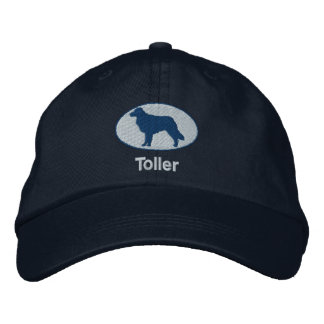 Toller Embroidered Hat Blue