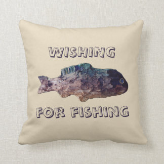 Tolopea Wishing for Fishing Cushion
