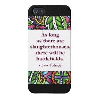 Tolstoy Quote Cover For iPhone 5/5S
