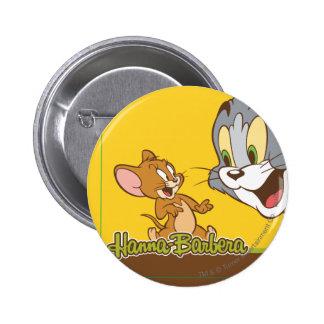 Tom And Jerry 6 Cm Round Badge