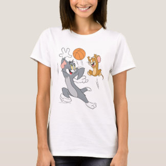 Tom and Jerry Basketball 1 T-Shirt