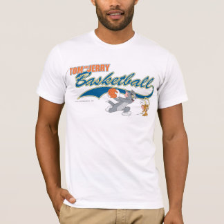 Tom and Jerry Basketball 5 T-Shirt