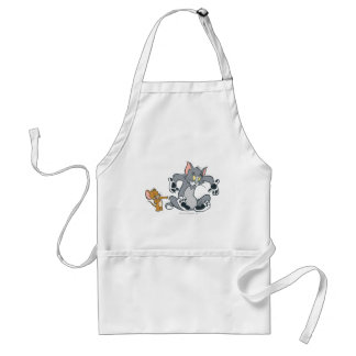 Tom and Jerry Black Paw Cat Standard Apron