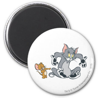 Tom and Jerry Black Paw Cat Magnet