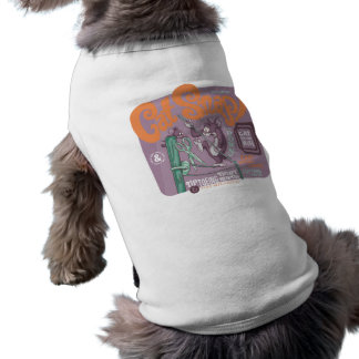 Tom and Jerry Cat Snap Sleeveless Dog Shirt