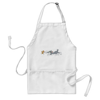 Tom and Jerry Chase Aprons