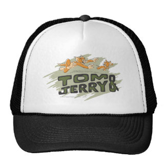 Tom and Jerry Chase Logo Cap
