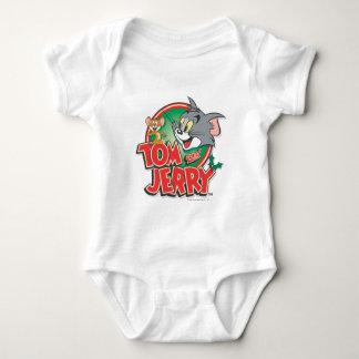 Tom and Jerry Classic Logo Baby Bodysuit