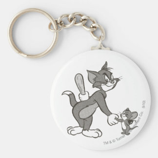 Tom And Jerry Deceitful Handshake Key Ring