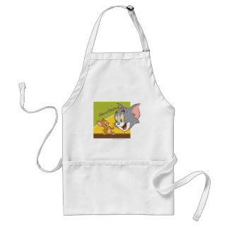 Tom and Jerry Hanna Barbera Logo Standard Apron