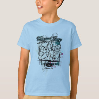 Tom and Jerry Hollywood CA T-Shirt