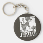 Tom And Jerry Justice the Hard Way Key Chains