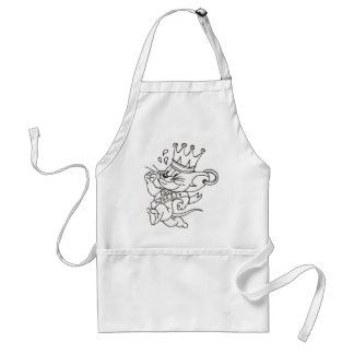 Tom and Jerry King Jerry Standard Apron