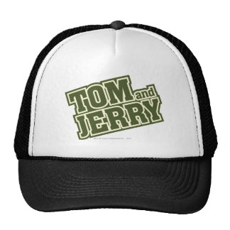 Tom and Jerry Logo 3 Cap
