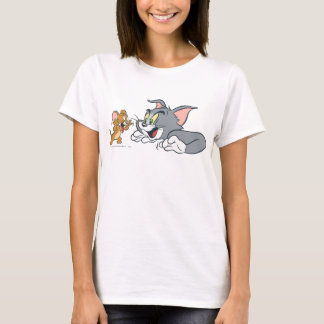 Tom and Jerry Make Faces T-Shirt