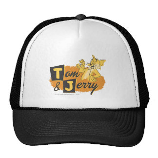 Tom and Jerry Mouse In Paw Logo Cap