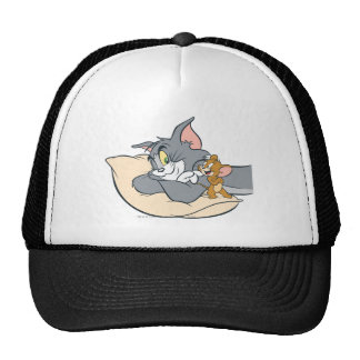 Tom and Jerry On Pillow Cap
