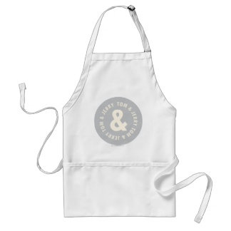Tom and Jerry Round Logo 1 Standard Apron