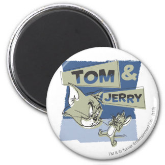 Tom and Jerry Scaredey Mouse Magnet