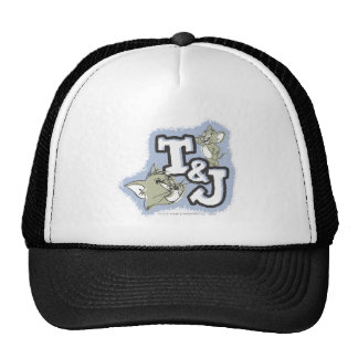 Tom and Jerry T&J Logo Cap