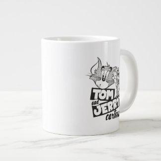 Tom And Jerry   Tom And Jerry Cartoon Large Coffee Mug
