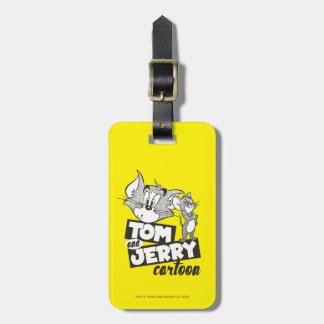 Tom And Jerry | Tom And Jerry Cartoon Luggage Tag