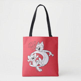 Tom And Jerry | Tom And Jerry Laughing Tote Bag