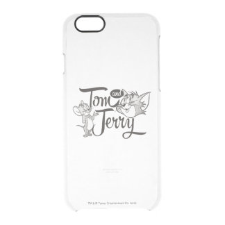 Tom And Jerry | Tom And Jerry Looking Sweet Clear iPhone 6/6S Case