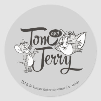 Tom And Jerry | Tom And Jerry Looking Sweet Round Sticker