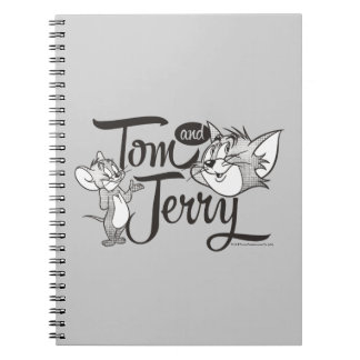 Tom And Jerry | Tom And Jerry Looking Sweet Spiral Notebook