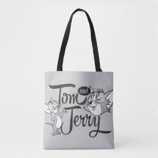 Tom And Jerry | Tom And Jerry Looking Sweet Tote Bag