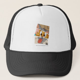 Tom And Jerry | Tom And Jerry Mashup Trucker Hat