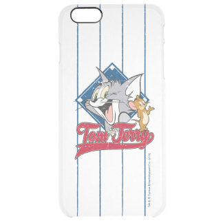 Tom And Jerry | Tom And Jerry On Baseball Diamond Clear iPhone 6 Plus Case