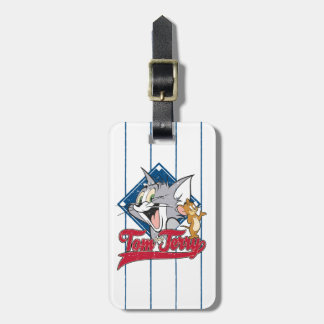 Tom And Jerry | Tom And Jerry On Baseball Diamond Luggage Tag