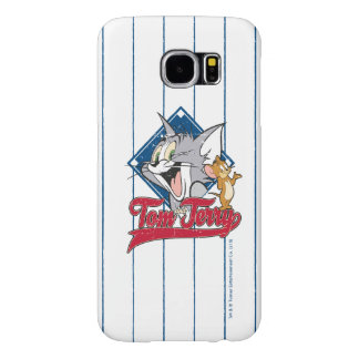 Tom And Jerry | Tom And Jerry On Baseball Diamond Samsung Galaxy S6 Cases