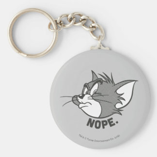 Tom And Jerry   Tom Says Nope Key Ring
